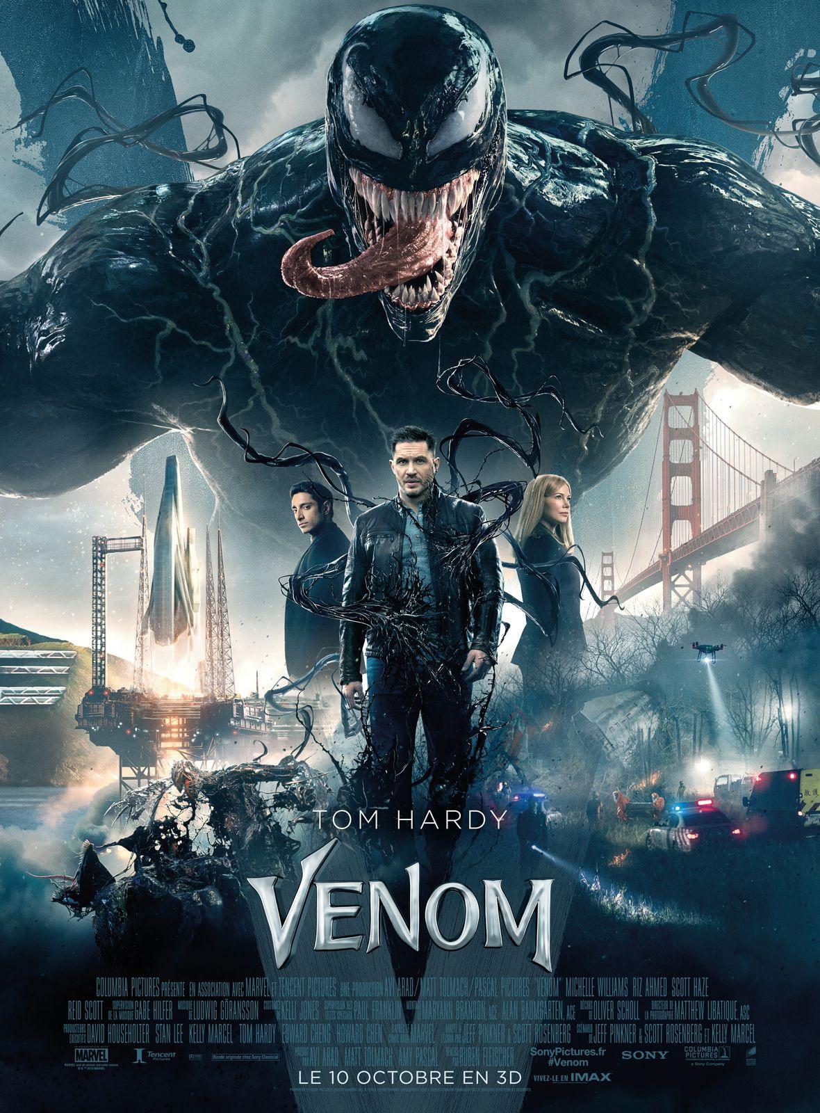 """Que vaut vraiment """"Venom"""", la dernière production super-héroïque Marvel/Sony ? Cliquez ici pour en avoir le cœur net !"""