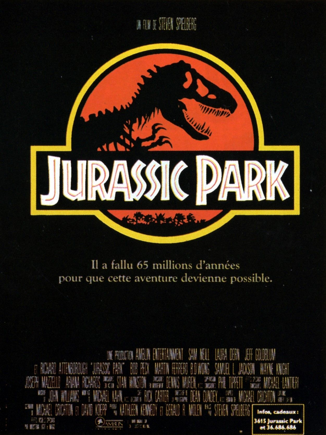 """Venez découvrir les plus beaux secrets qui font la magie de """"Jurassic Park"""""""