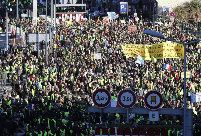 Gilets jaunes, actes 9 : Plus de 84.000 manifestants dans toute la France !