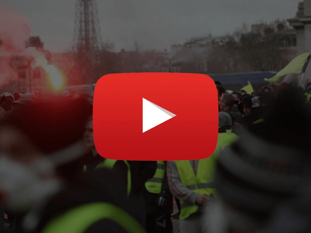 Des débordements à Paris aujourd'hui en rapport avec l'acte 9 des gilets jaunes.