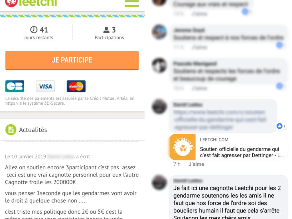 Attention ! Sur Internet de fausses cagnottes caritatives peuvent facilement être créé, soyez vigilant pour ne pas vous faire arnaquer !