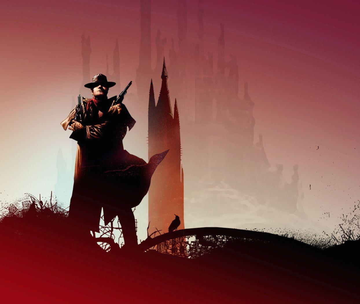 Le pistolero Roland de Gilead à la recherche de la Tour Sombre