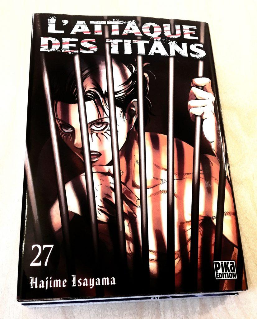Le tome 27 de l'Attaque des Titans