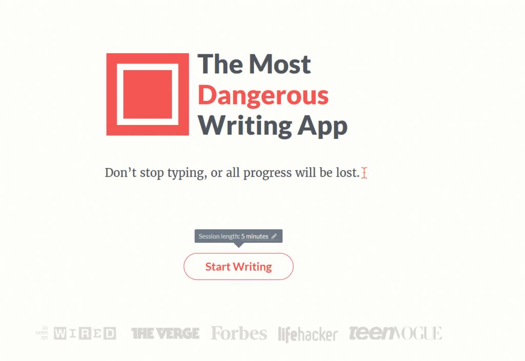 Arrêter de procrastiner grâce à The Most Dangerous App.