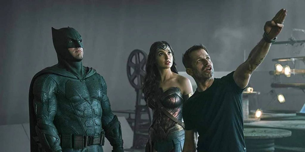 Zack Snyder Justice League tournage
